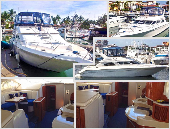48' Azimut Puerto Vallarta Mexico Yacht Charters and Boat rentals