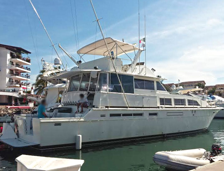 75' yacht Puerto Vallarta Mexico Yacht Charters and Boat rentals